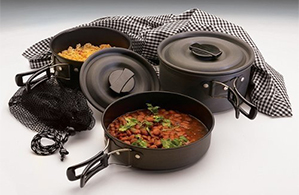 Texsport Black Ice Cook Set