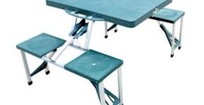 outsunny portable picnic table