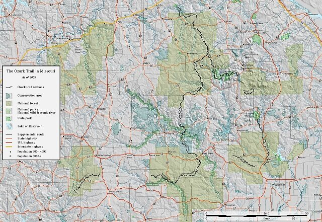 How Long Does It Take to Hike the Ozark Mountain Trail