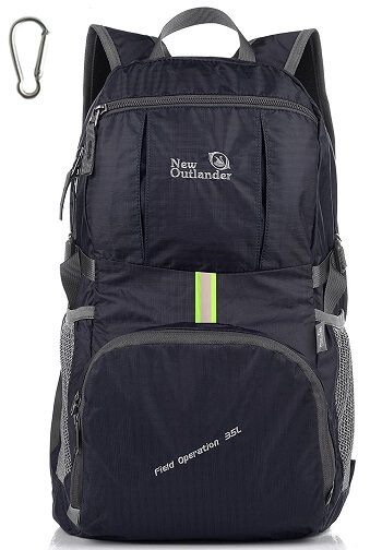 Outlander Lightweight Hiking Backpack - 35L