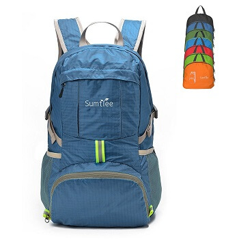 Sumtree Ultra Lightweight Foldable Backpack - 35L
