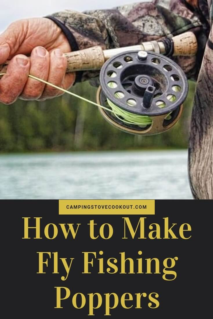 How to Make Fly Fishing Poppers