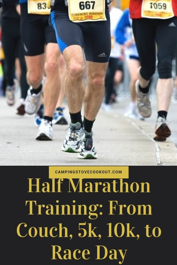 Half Marathon Training From Couch, 5k, 10k, to Race Day