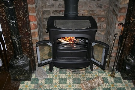 Use a Wood Burner to Heat Your Cabin